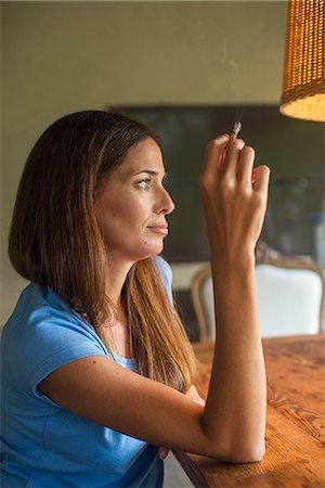 Mature women smoker pics