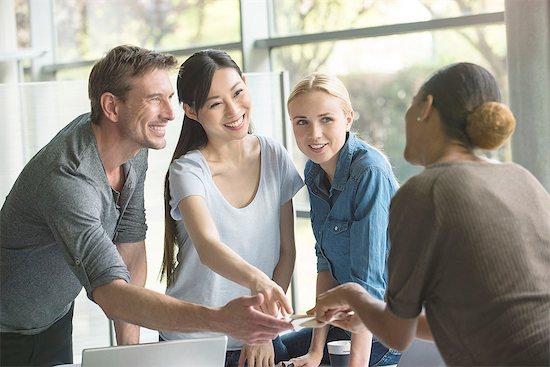 Teamwork builds morale Stock Photo - Premium Royalty-Free, Image code: 632-08129752