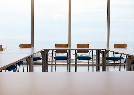 Empty conference room Stock Photo - Premium Royalty-Free, Image code: 632-01157595