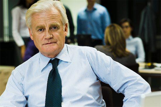 Mature businessman, portrait Stock Photo - Premium Royalty-Free, Image code: 632-03779534