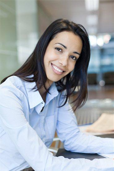 Businesswoman, portrait Stock Photo - Premium Royalty-Free, Image code: 632-03897890