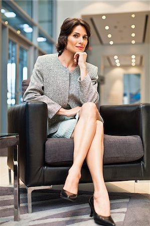 Sexy mature women in high heels