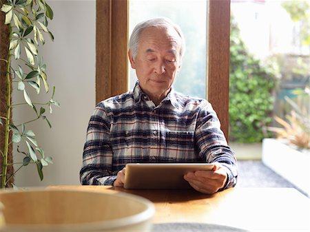 60 year old asian man