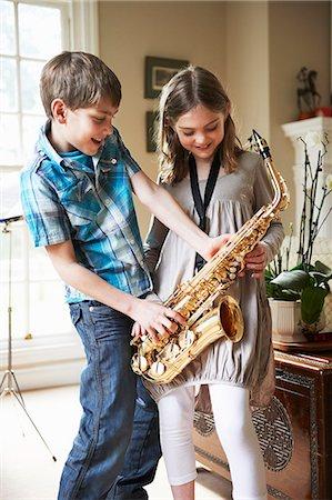 Sax pics girl boys