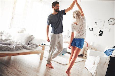 Dance on floor.