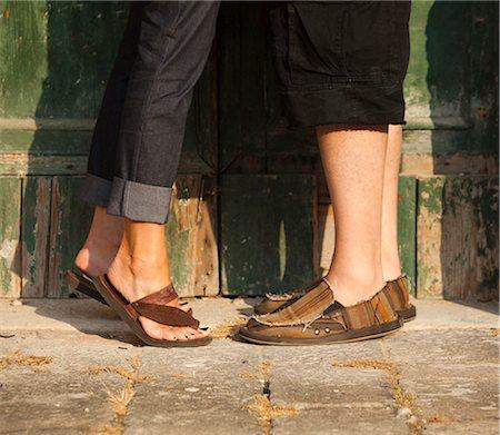 40 year old woman feet