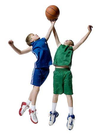 Basketball Player Jumpshot Cutout Boy