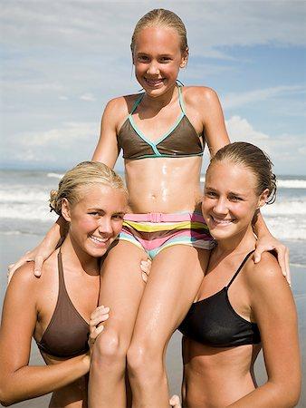 preteen girls swim wear stock photos page 1 masterfile rh masterfile com