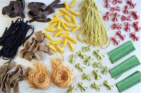 Pasta type Stock Photos - Page 1 : Masterfile