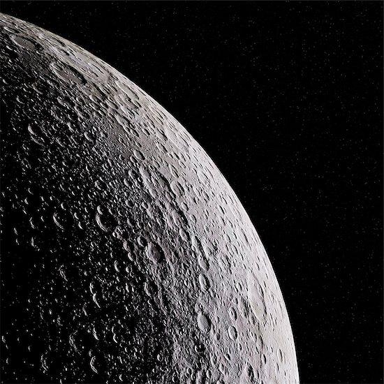 Moon, illustration. Stock Photo - Premium Royalty-Free, Image code: 679-08972181