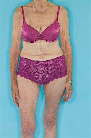 senior women in bra stock photos - page 1 : masterfile