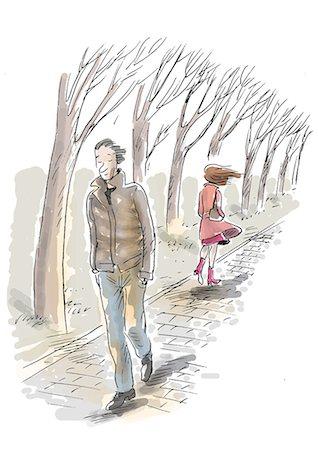 Sad photos for men walking Stock Photos - Page 1 : Masterfile