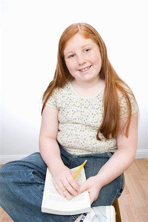 Fat girl redhead