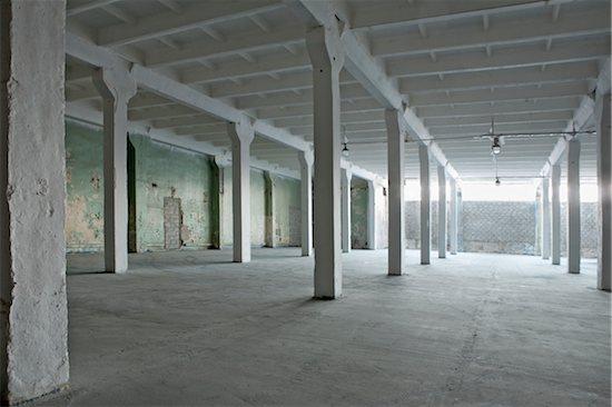 Interior of a warehouse Stock Photo - Premium Royalty-Free, Image code: 693-03783116