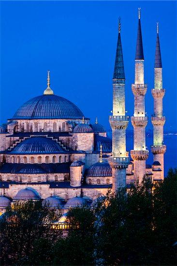 The Blue Mosque, Istanbul, Turkey Stock Photo - Premium Rights-Managed, Artist: R. Ian Lloyd, Image code: 700-05609448
