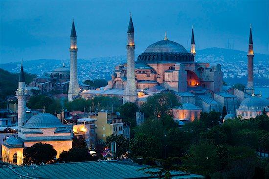 Hagia Sophia, Istanbul, Turkey Stock Photo - Premium Rights-Managed, Artist: R. Ian Lloyd, Image code: 700-05609462