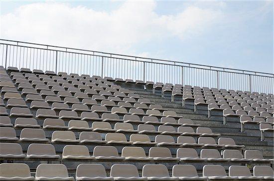 Empty Stadium Stock Photo - Premium Rights-Managed, Artist: Jean-Christophe Riou, Image code: 700-06397715