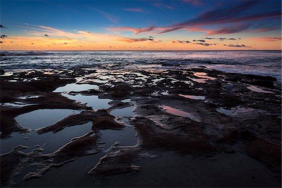 Red Bluff at Sunset, Kalbarri, Western Australia, Australia Stock Photo - Premium Rights-Managed, Artist: R. Ian Lloyd, Image code: 700-06841514