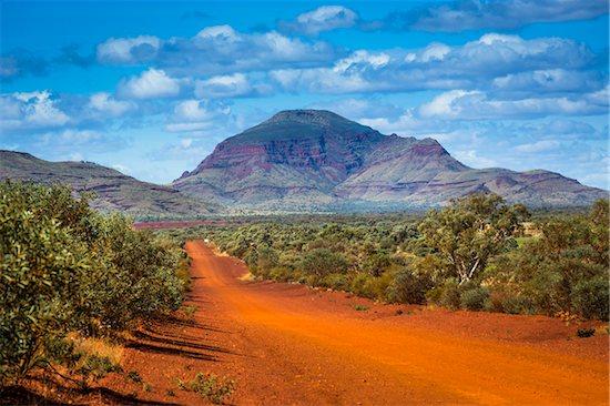 Mount Bruce Road, The Pilbara, Western Australia, Australia Stock Photo - Premium Rights-Managed, Artist: R. Ian Lloyd, Image code: 700-06841585