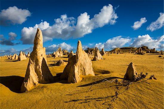 The Pinnacles, Nambung National Park, Western Australia, Australia Stock Photo - Premium Rights-Managed, Artist: R. Ian Lloyd, Image code: 700-06841639