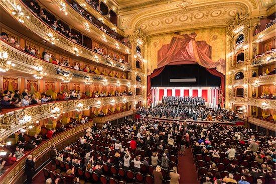 Interior of Teatro Colon, Buenos Aires, Argentina Stock Photo - Premium Rights-Managed, Artist: R. Ian Lloyd, Image code: 700-07237768