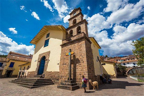 San Blas Church, Cusco, Peru Stock Photo - Premium Rights-Managed, Artist: R. Ian Lloyd, Image code: 700-07279095
