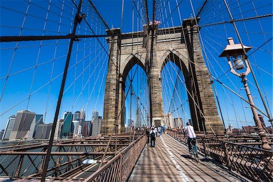 Brooklyn Bridge, New York City, New York, USA Stock Photo - Premium Rights-Managed, Artist: R. Ian Lloyd, Image code: 700-07745118