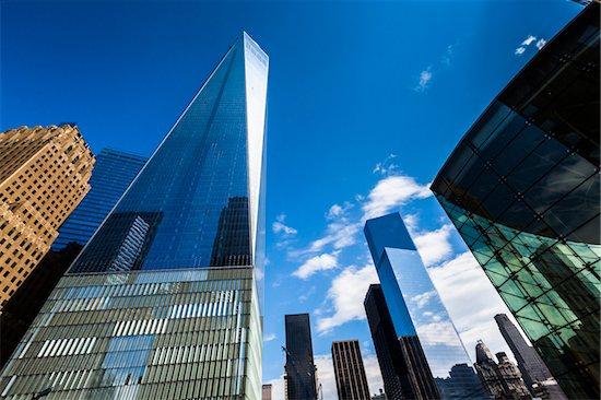 Freedom Tower, New York City, New York, USA Stock Photo - Premium Rights-Managed, Artist: R. Ian Lloyd, Image code: 700-07745137