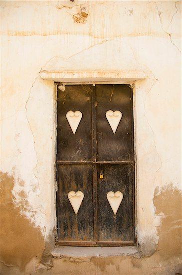 Typical Omani Door with Design, Sayma, Oman Stock Photo - Premium Rights-Managed, Artist: Bettina Salomon, Image code: 700-07784142