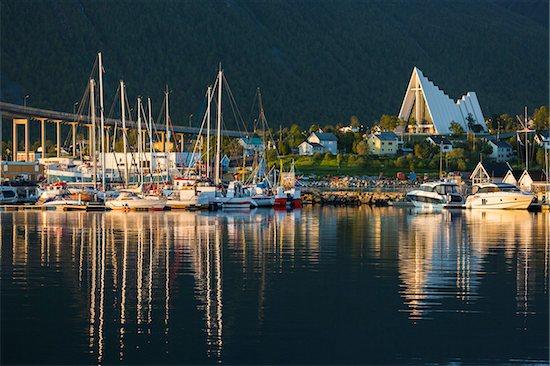 Midnight Sun, Tromso, Troms, Norway Stock Photo - Premium Rights-Managed, Artist: R. Ian Lloyd, Image code: 700-07784201