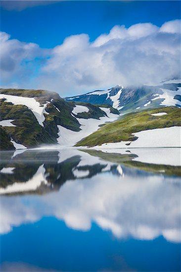 Skjelingavatnet near Vik, Sogn og Fjordane, Norway Stock Photo - Premium Rights-Managed, Artist: R. Ian Lloyd, Image code: 700-07784532