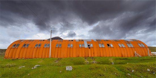 Old rusted warehouse on the Isle of Skye in Scotland, United Kingdom Stock Photo - Premium Rights-Managed, Artist: Raimund Linke, Image code: 700-08986317