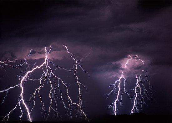 Lightning Stock Photo - Premium Rights-Managed, Artist: Ron Stroud, Image code: 700-00027539