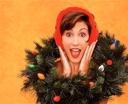 Weird Christmas Wreaths Stock Photos Page 1 Masterfile
