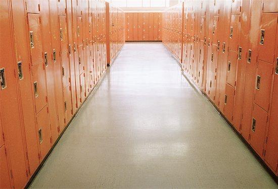 Lockers Stock Photo - Premium Rights-Managed, Artist: Elizabeth Knox, Image code: 700-00094536