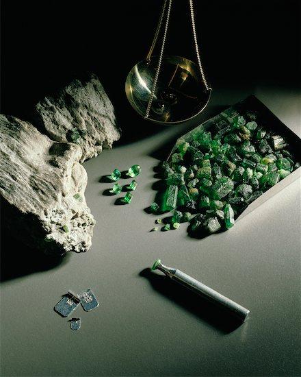 Still Life of Gems Stock Photo - Premium Rights-Managed, Artist: Ken Davies, Image code: 700-00194399