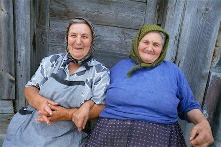Very old fat women