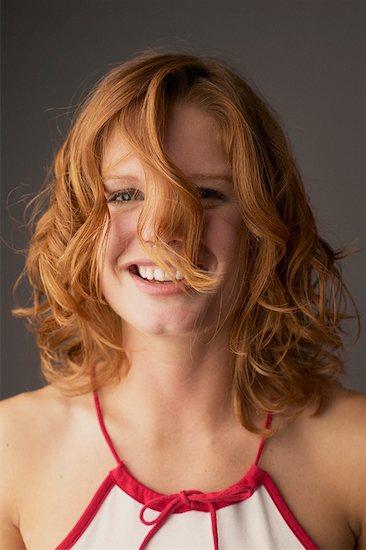 Portrait of a Woman Stock Photo - Premium Rights-Managed, Artist: Dan Lim, Image code: 700-00268600