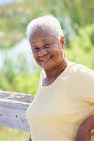 70 year old black woman
