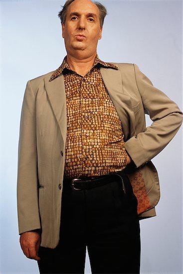 Portrait of Man Stock Photo - Premium Rights-Managed, Artist: Puzant Apkarian, Image code: 700-00425740