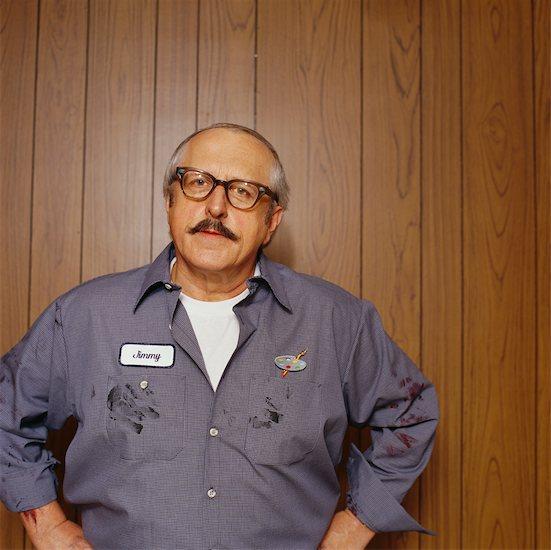 Portrait of Man Stock Photo - Premium Rights-Managed, Artist: Wayne Eardley, Image code: 700-00529187