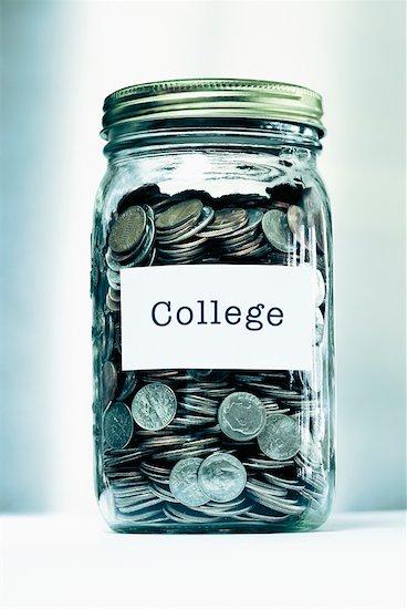 Jar Full of Coins Stock Photo - Premium Rights-Managed, Artist: Burazin, Image code: 700-00523901