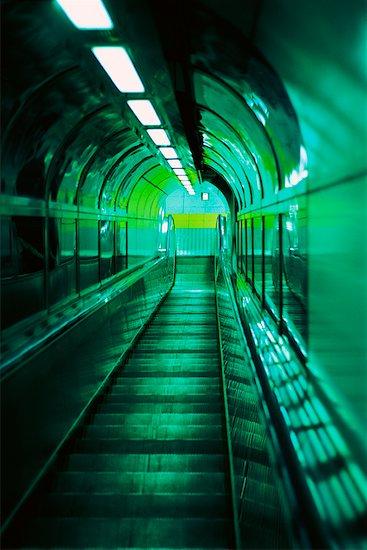 Escalator, Tokyo, Japan Stock Photo - Premium Rights-Managed, Artist: Pierre Tremblay, Image code: 700-00543629