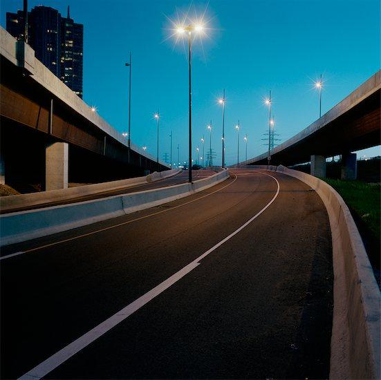 Highway On-Ramp Stock Photo - Premium Rights-Managed, Artist: Derek Shapton, Image code: 700-00641145