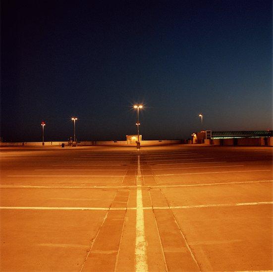 Parking Lot at Night Stock Photo - Premium Rights-Managed, Artist: Derek Shapton, Image code: 700-00641173