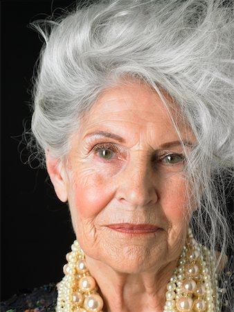 Older hairy women