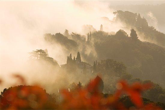 Sunrise Near Montepulciano, Tuscany, Italy Stock Photo - Premium Rights-Managed, Artist: R. Ian Lloyd, Image code: 700-01185585