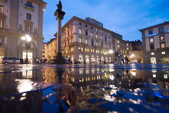 Piazza della Republica, Florence, Italy Stock Photo - Premium Rights-Managed, Artist: R. Ian Lloyd, Image code: 700-01185581