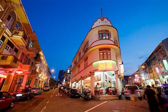 Keong Saik Road, Singapore Stock Photo - Premium Rights-Managed, Artist: R. Ian Lloyd, Image code: 700-01185631