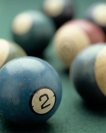Vintage Pool Balls Stock Photo - Premium Rights-Managed, Artist: Tom Collicott, Image code: 700-01195569